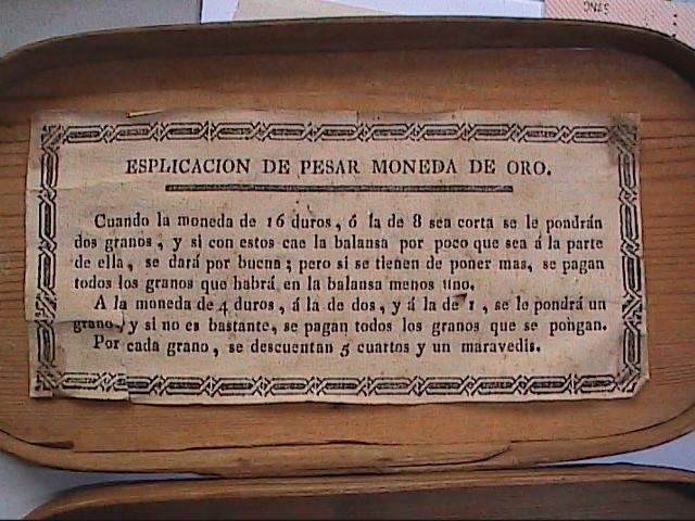 Antigüedades: EXCELENTE LOTE DE BALANZA CON 11 PONDERALES. S. XVIII. BARCELONA. - Foto 9 - 112710639