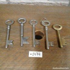 Antigüedades: LOTE DE LLAVES ANTIGUAS. Lote 112723859