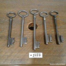 Antigüedades: LOTE DE LLAVES ANTIGUAS. Lote 112724039