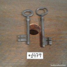 Antigüedades: LOTE DE LLAVES ANTIGUAS. Lote 112724179