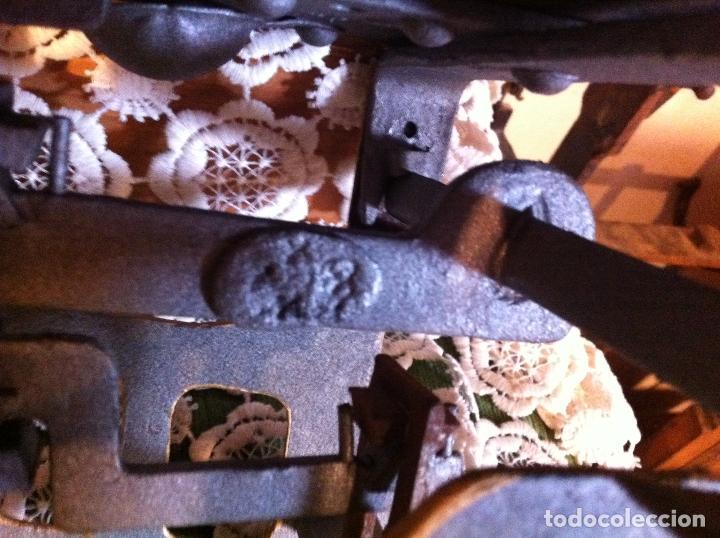 Antigüedades: PEQUEÑA Y BONITA BALANZA CON FUERZA 3 KG DE PRINCIPIOS DE S. XX (BG 08) - Foto 7 - 112728707
