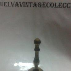 Antigüedades: CAMPANA DE BRONCE, 13'5×7CM.. Lote 112741432