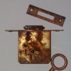 Antigüedades: CERRADURA DE GANCHO. Lote 112744763