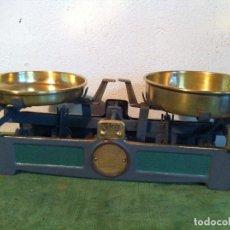 Antigüedades: PEQUEÑA BALANZA ALEMANA FUERZA 3 KG DE PRINCIPIOS S. XX (BJ 11). Lote 112746587