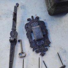 Antigüedades: CERRADURA DE ARCA. Lote 112820023