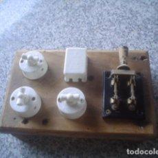 Antigüedades: ANTIGUO CUADRO ELECTRICO SIMON GARDY COLECION VINTAGE. Lote 112919947