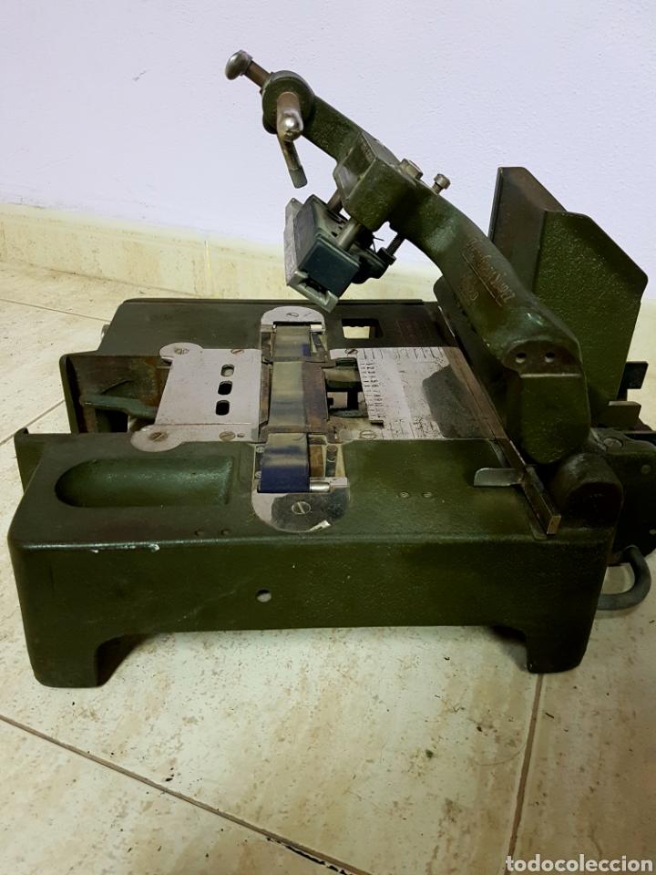 Antigüedades: Addressograph Model H3, London. Maquina para etiquetadora - Foto 4 - 112933362