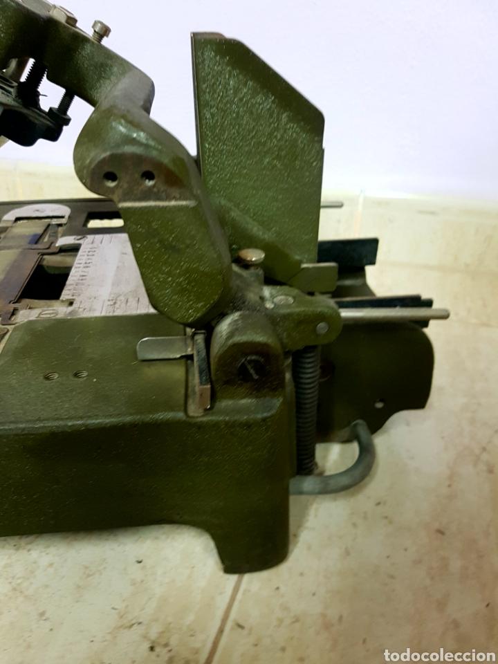 Antigüedades: Addressograph Model H3, London. Maquina para etiquetadora - Foto 6 - 112933362