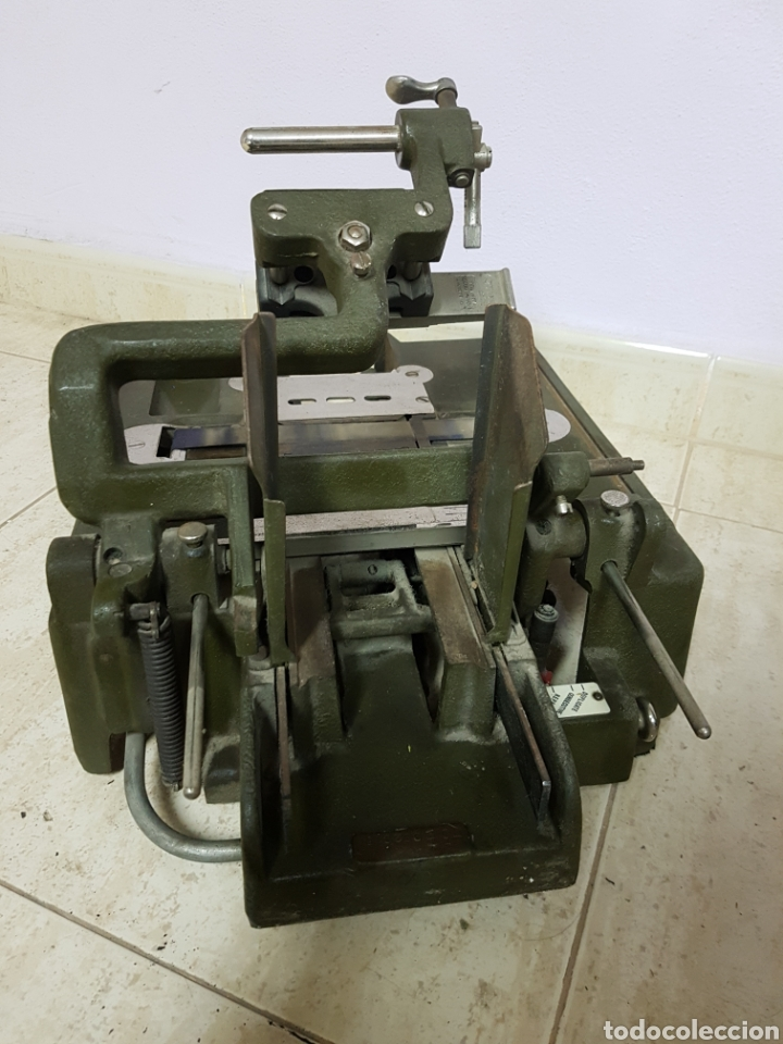 Antigüedades: Addressograph Model H3, London. Maquina para etiquetadora - Foto 11 - 112933362