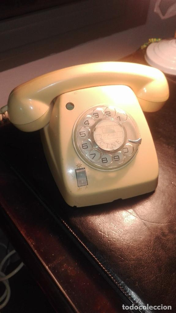 TELÉFONO HERALDO.CITESA.MÁLAGA (Antigüedades - Técnicas - Teléfonos Antiguos)