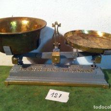 Antigüedades: HERMOSA BALANZA FORCE 10 KG DE PRINCIPIOS S. XX (BL 18). Lote 113030935