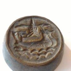 Antigüedades: PONDERAL BIRMANIA .PONDERAL . TRIÁNGULO DE ORO .RARA .274 GRS .ORIGINA L. Lote 113099339