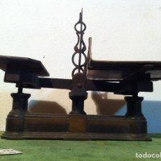 Antigüedades: RARA BALANZA DE PAQUETERIA DE PRINCIPIOS DEL S. XX (B137). Lote 113107187