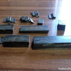 Antiquitäten - TIPOGRAFÍA IMPRENTA. LÍNEAS 6 PUNTOS APROX. BRONCE. 75 PIEZAS - 113107967
