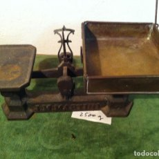 Antigüedades: FANTASTICA BALANZA DE FUERZA 1 KG MARCA JM MARTINI DE PRINCIPIOS DEL XX (BM 09). Lote 113118663
