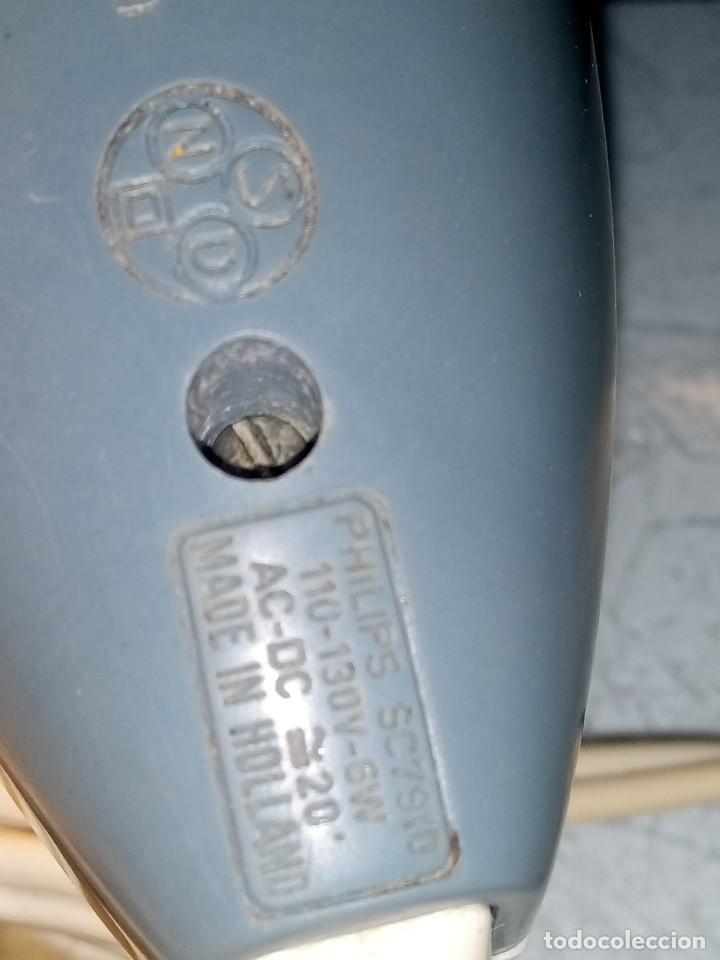 Antigüedades: MAQUINA AFEITAR PHILIPHS. MODELO SC 7.910 DE 1.960. FUNCIONANDO. DESCRIPCION Y FOTOS. - Foto 8 - 113142579