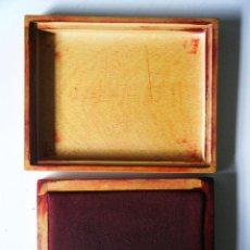 Antigüedades: TAMPON GRANDES DIMENSIONES, CAJA DE MADERA.. Lote 113171555