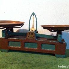 Antigüedades: SENCILLA BALANZA ALEMANA DE PRINCIPIOS DE S. XX (BJ 13). Lote 113183731
