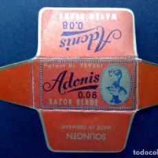 Antigüedades: HOJA DE AFEITAR ANTIGUA-ADONIS-SOLINGEN-VINTAGE. Lote 113233559