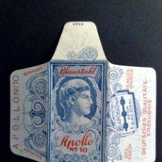 Antigüedades: HOJA DE AFEITAR ANTIGUA-APOLLO Nº10,BLAUSTAHL-VINTAGE. Lote 113233867