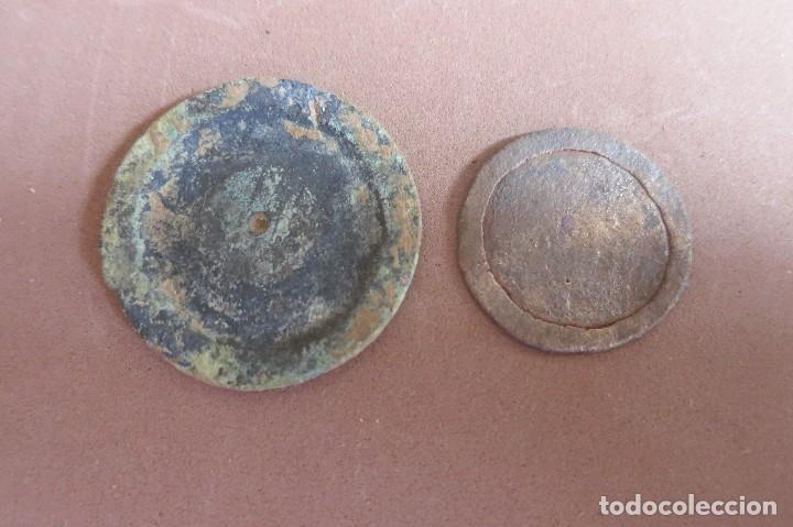 PONDERALES IBEROS REDONDOS (Antigüedades - Técnicas - Medidas de Peso - Ponderales Antiguos)