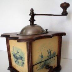 Antigüedades: MOLINILLO DE CAFÉ MARCA MUTZIG-FRAMONT. MODELO WOC. FRANCIA. CA. 1920/1930. Lote 113243883
