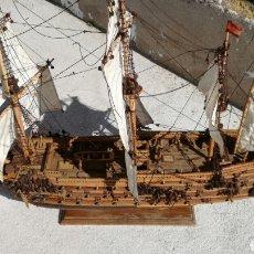 Antigüedades: BARCO GALEON ESPAÑOL S XVI J M. Lote 144096516
