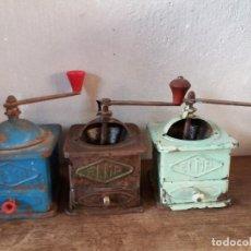 Antigüedades: LOTE DE 3 MOLINILLOS ELMA. Lote 113253539