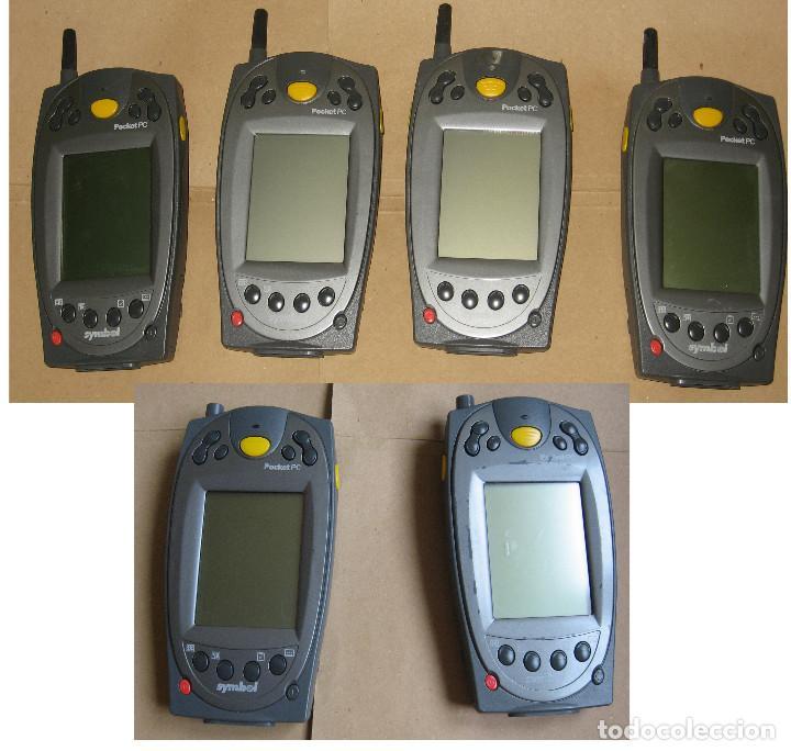 Lote 6 Equipos Symbol Ppt 2837 Pocket Pc 2002 Comprar Ordenadores