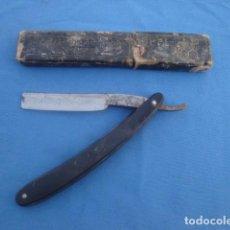 Antigüedades: NAVAJA DE AFEITAR GUILLERMO HOPPE -SOLINGEN. Lote 113330215