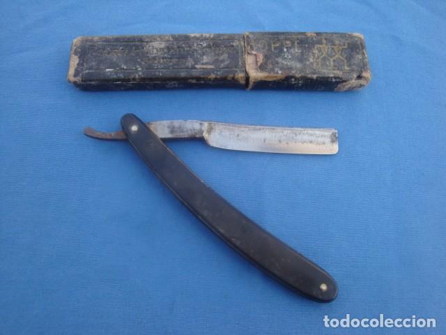 Antigüedades: NAVAJA DE AFEITAR GUILLERMO HOPPE -SOLINGEN - Foto 2 - 113330215