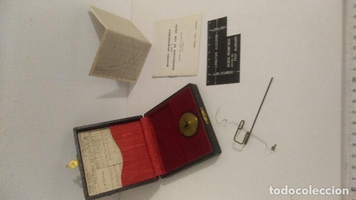 Antigüedades: antigua balanza micrometrica - Foto 8 - 113338223