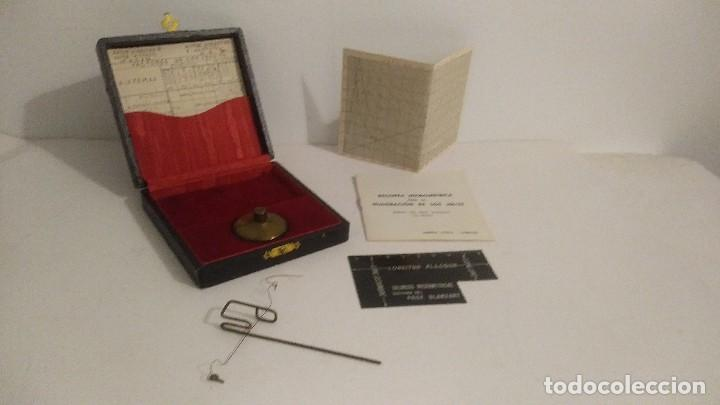 Antigüedades: antigua balanza micrometrica - Foto 9 - 113338223