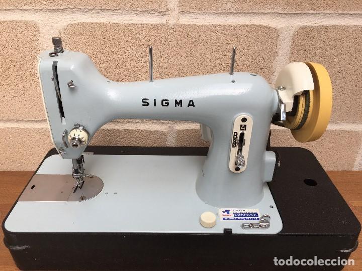 MAQUINA DE COSER SIGMA (Antigüedades - Técnicas - Máquinas de Coser Antiguas - Sigma)