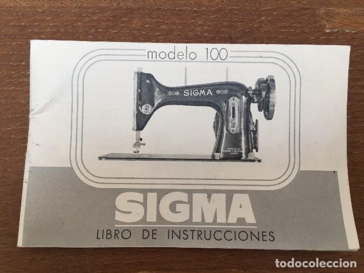Antigüedades: MAQUINA DE COSER SIGMA - Foto 3 - 113340427
