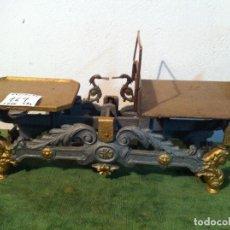 Antigüedades: MUY BONITA BALANZA DE PAQUETERIA CON FUERZA 5 KG DE PRINCIPIOS S. XX (BH 07). Lote 113369503