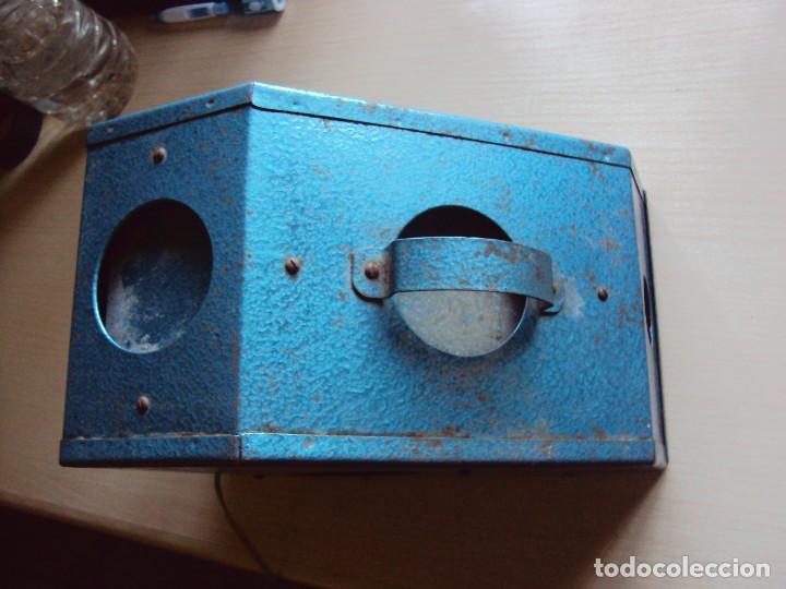 ESPECIE DE VISOR (Antigüedades - Técnicas - Aparatos de Cine Antiguo - Visores Estereoscópicos Antiguos)