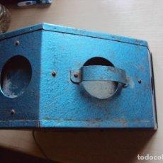 Antigüedades: ESPECIE DE VISOR. Lote 113400067