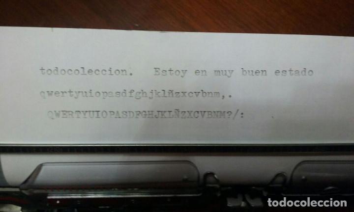 ANTIGUA MAQUINA DE ESCRIBIR TRIUMPH CONTESSA DE LUXE AÑOS 70. (Antigüedades - Técnicas - Máquinas de Escribir Antiguas - Triumph)