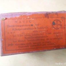 Antigüedades: GAFAS PROTECTORAS RAYOS X ALEMANIA AÑOS 40. Lote 113428775