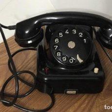 Teléfonos: ANTIGUO TELÉFONO DE BAQUELITA AUSTRIACO, TIPO CENTRALITA, EN PERFECTO ESTADO DE CONSERVACIÓN.. Lote 113442599