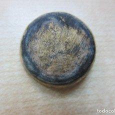Antigüedades: CLAVO ORNAMENTAL DORADO DE BRONCE PROBABLEMENTE MEDIEVAL. Lote 113451479