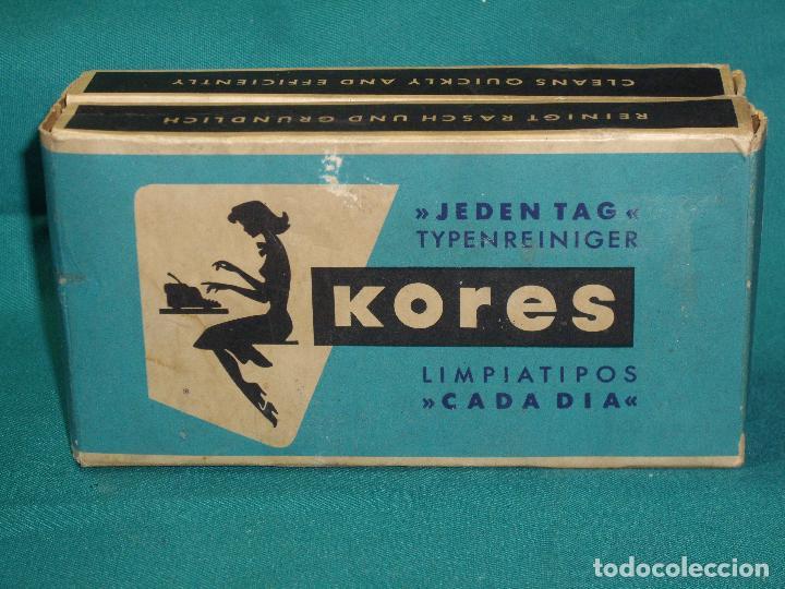 KORES - LIMPIATIPOS (Antigüedades - Técnicas - Máquinas de Escribir Antiguas - Otras)