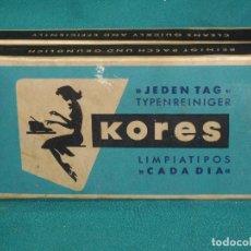 Antigüedades: KORES - LIMPIATIPOS . Lote 113537307