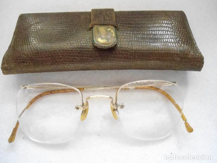 36cf48ea71 Antiguas gafas con montura al aire graduadas - Vendido en Venta ...