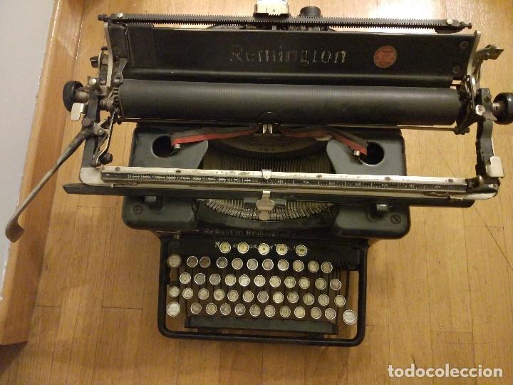Antigüedades: Máquina de escribir Remington modelo n°16 de 1936. - Foto 4 - 113605759