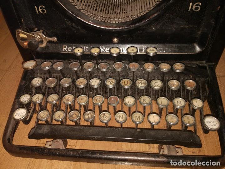 Antigüedades: Máquina de escribir Remington modelo n°16 de 1936. - Foto 5 - 113605759