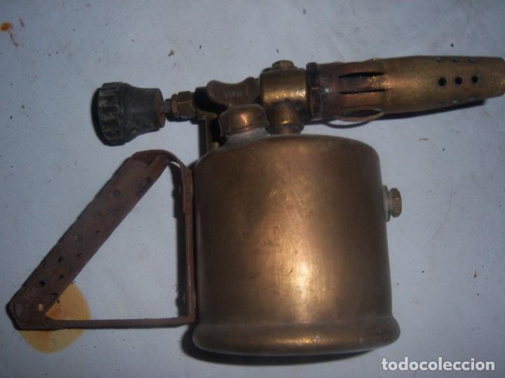 LAMPARILLA ANTIGUA INGLESA (Antigüedades - Técnicas - Herramientas Antiguas - Otras profesiones)