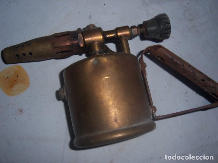 Antigüedades: lamparilla antigua inglesa - Foto 3 - 113636807
