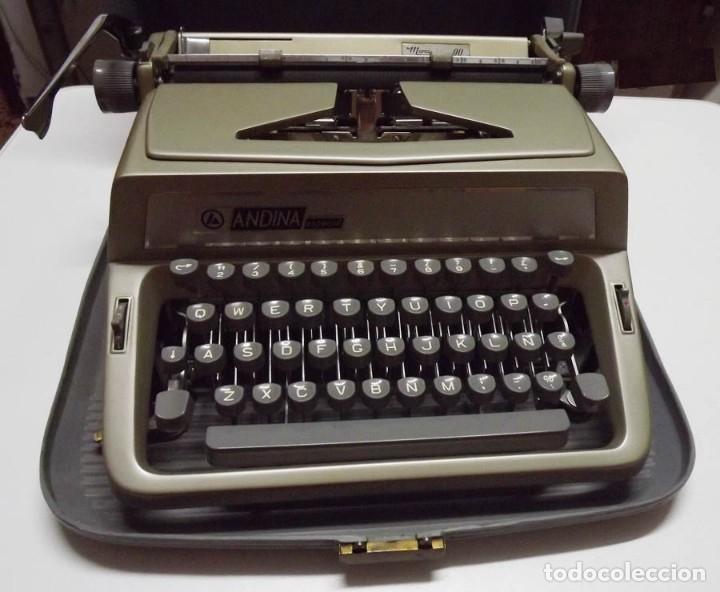 Antigüedades: Máquina de escribir Andina Modelo 90 - Foto 2 - 61508051